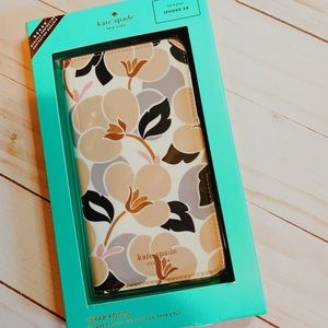 Kate Spade Breezy Floral iPhone XR Folio Case